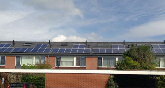 'Zonnepanelen leverden in 2016 weer meer stroom op'
