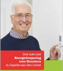 Energieambassadeurs helpen Capelse huurders om thuis energie te besparen!