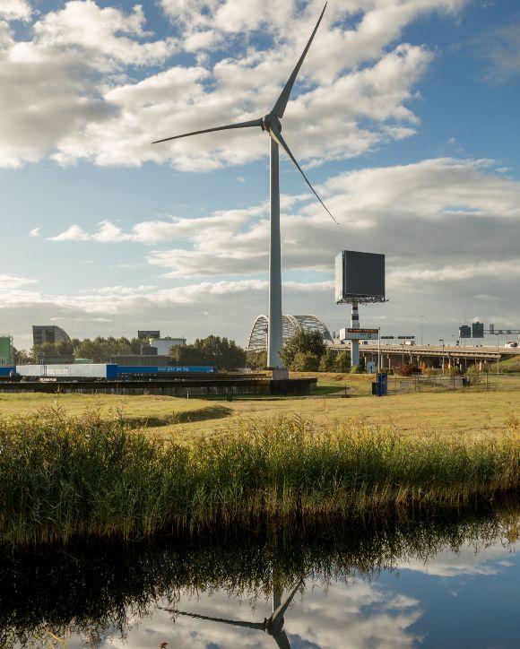 Bewoners kunnen investeren in windmolen Capelle aan den IJssel