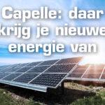 Capelle :   daar krijg je nieuwe energie van…….