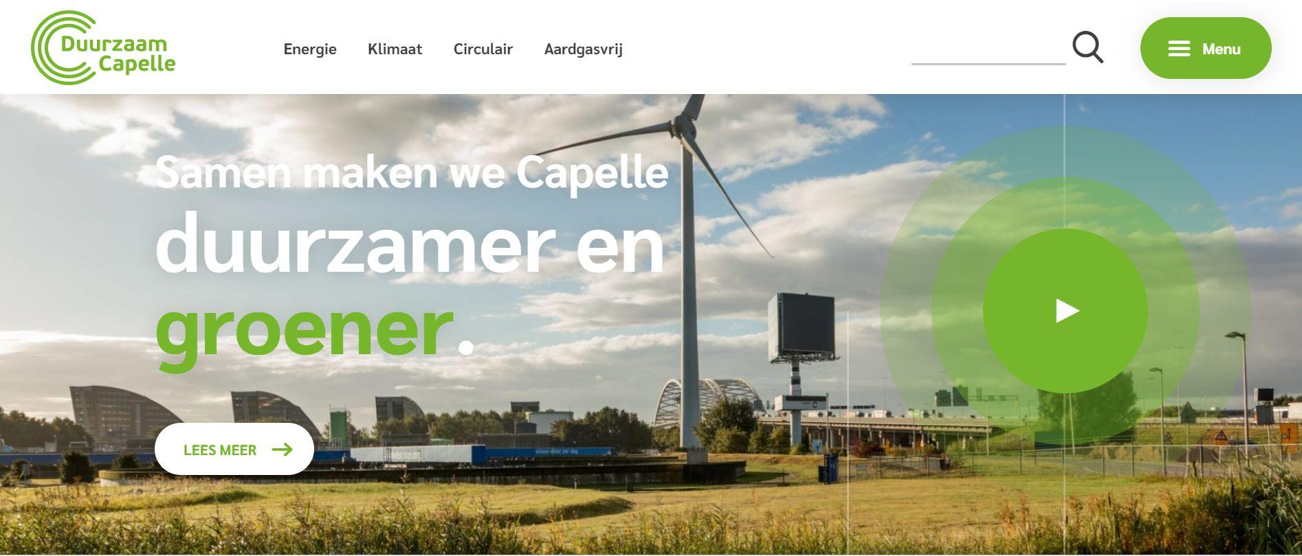 Het ECC en Duurzaam Capelle……