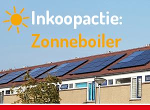 Inkoopactie Zonneboilers